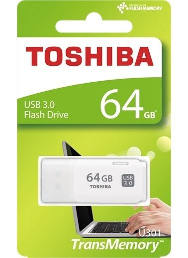 Toshiba 64Gb Usb 3.0 Beyaz (Hayabusa 3.0) Renkli